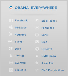 obama everywhere SIME 2008: Hur blir man president i USA?